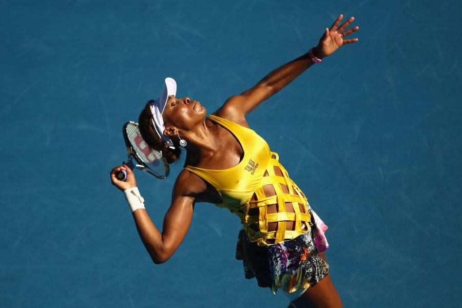 tennis fashion venus williams australian open