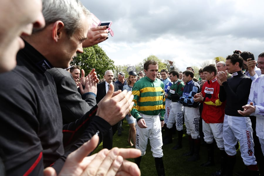 mccoy jockeys applaud