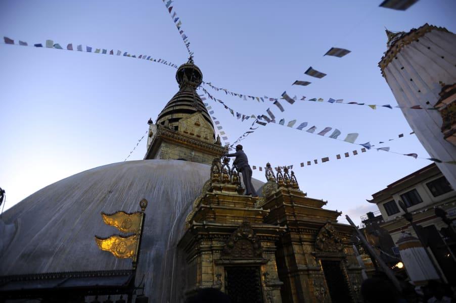 09 Swayambhunath stupa