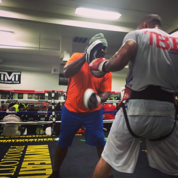 theophane mayweather pads confidential