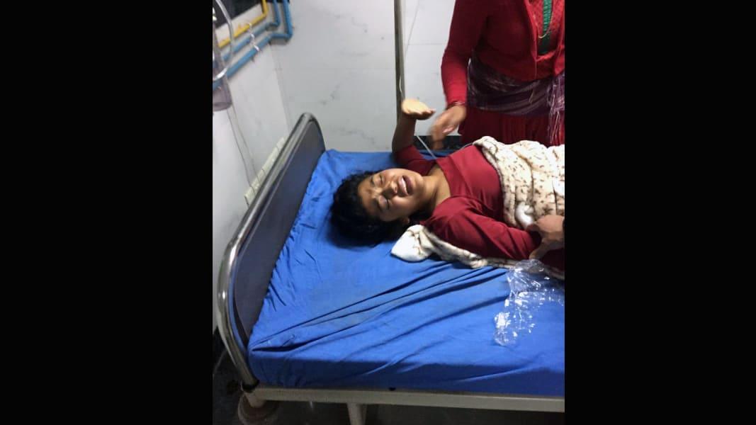 Nepal Hospital Girl 15