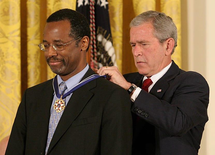 Ben Carson George Bush 2008