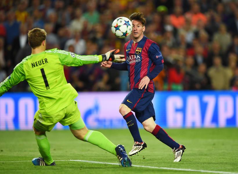 Messi Bayern goal may 2015