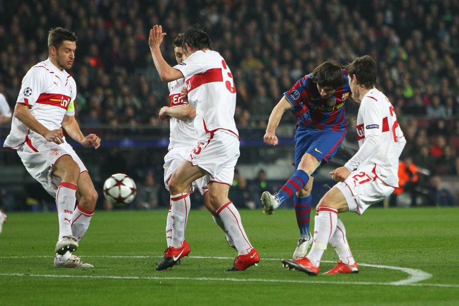 Messi vs Stuttgart