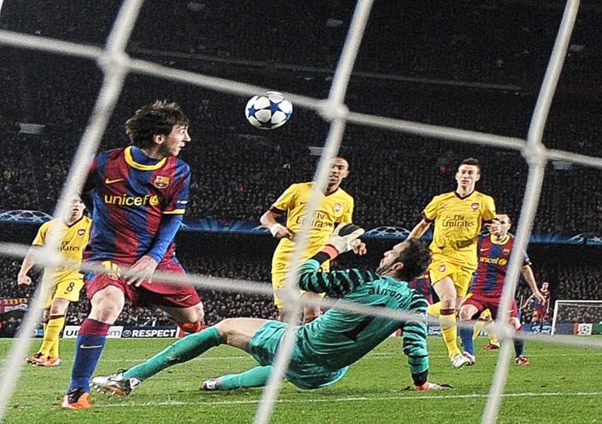 Messi vs Arsenal 2011