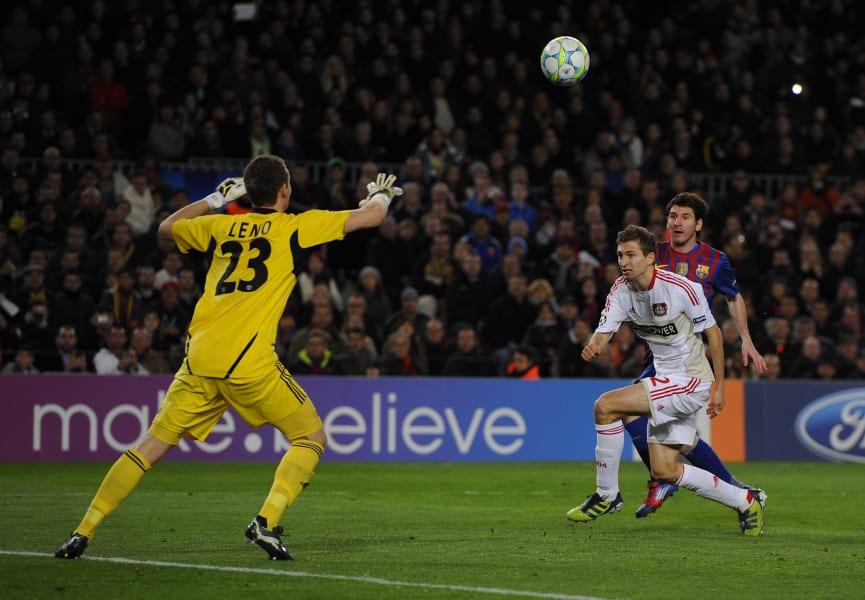 Messi Leverkusen