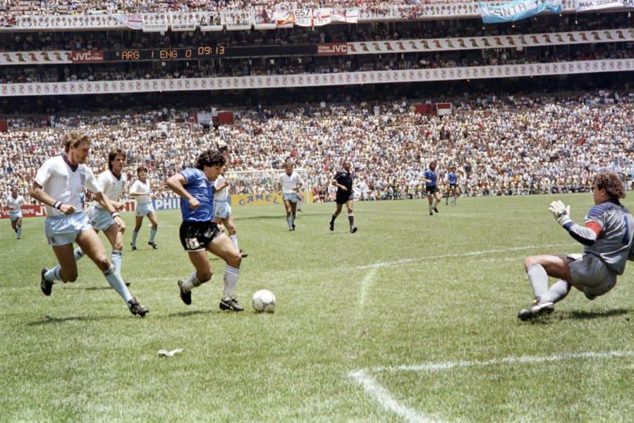 Maradona England goal