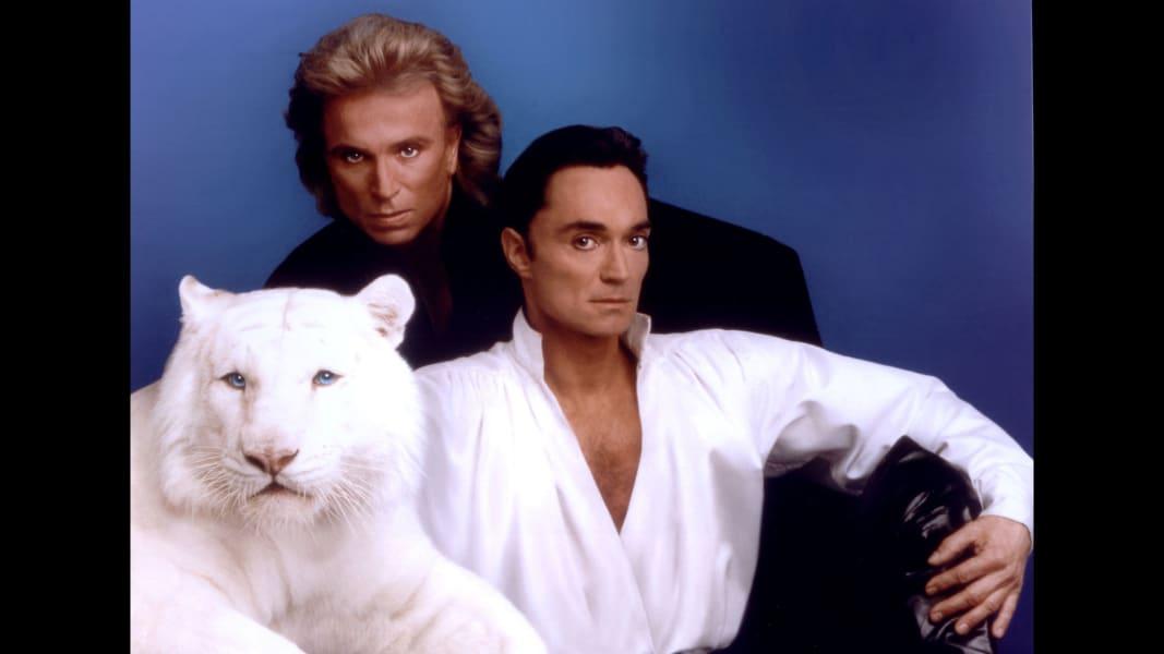 Siegfried Roy white tiger