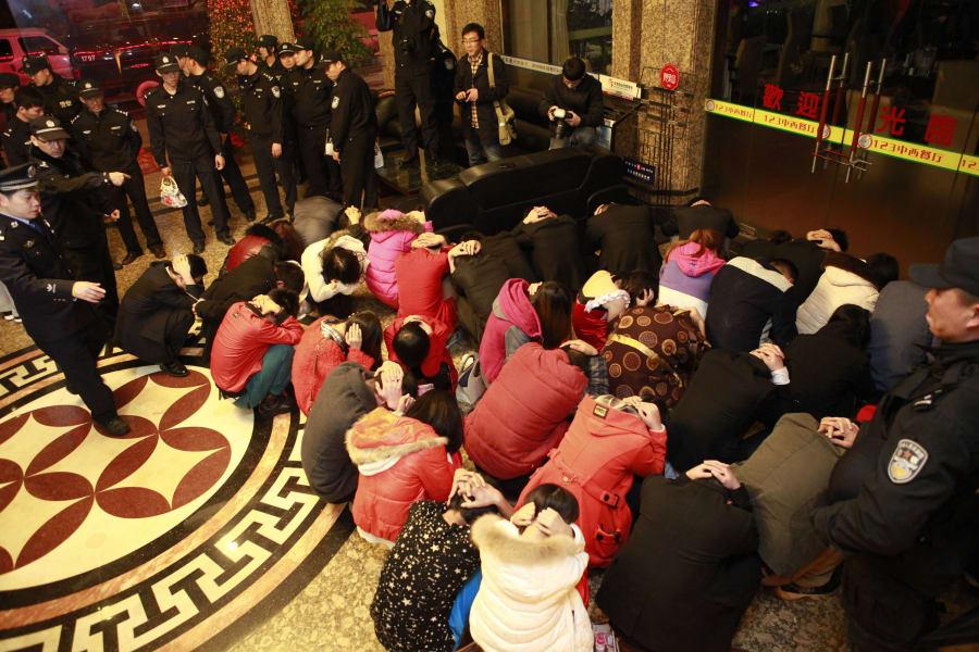 China Dongguan crackdown 4