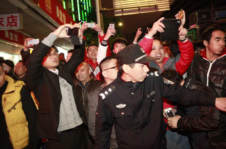 China dongguan crowd