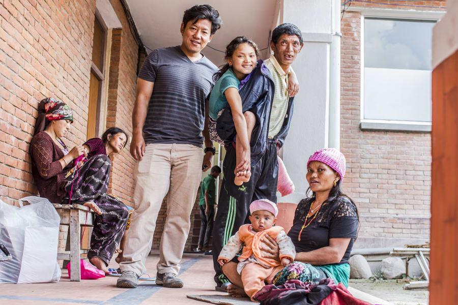 Nepal Girl Amputee