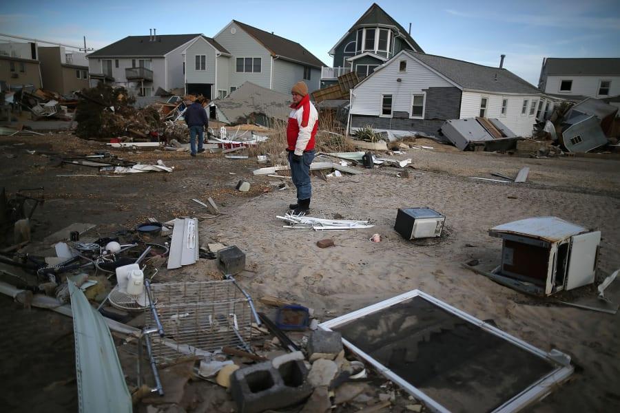Atlantic Hurricanes Sandy