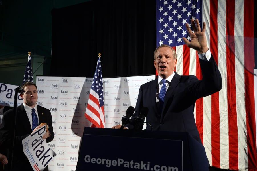 George Pataki 2016 announcement2