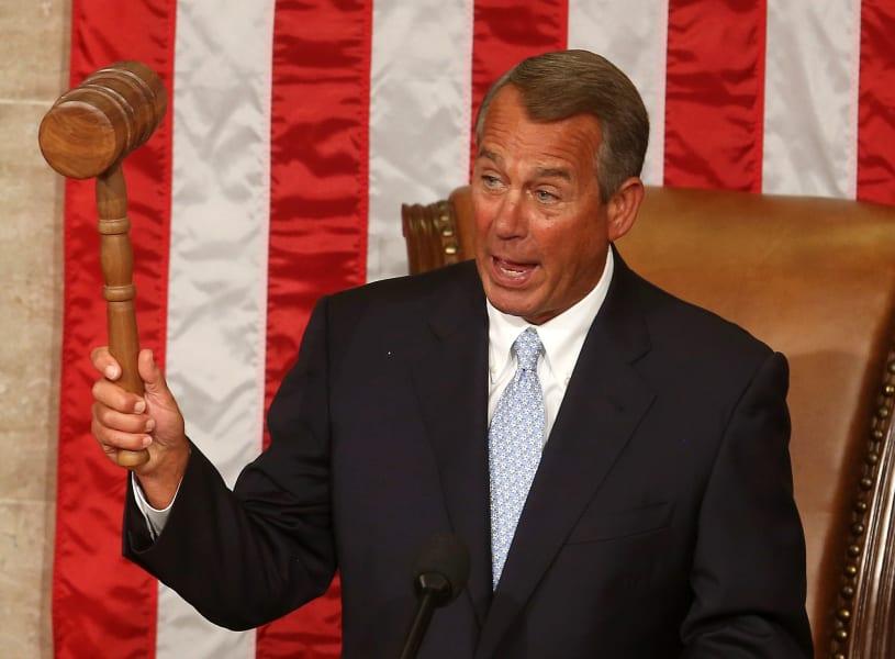 John Boehner Speaker Gallery 1