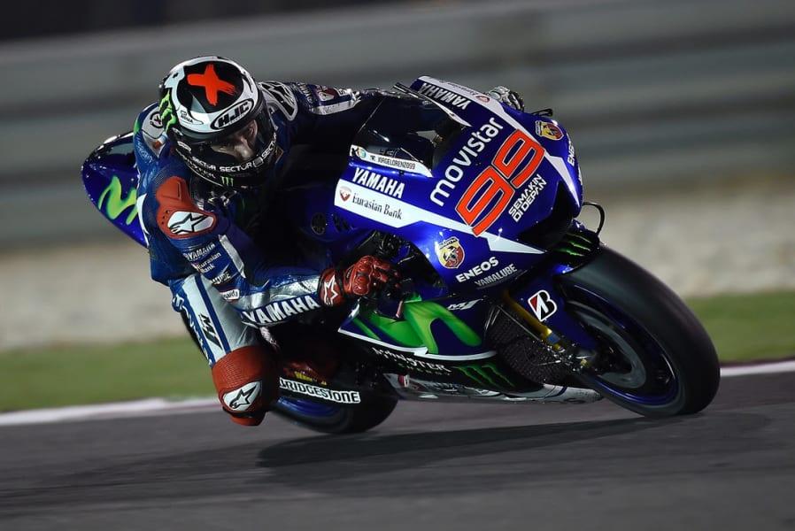 Lorenzo - Qatar test