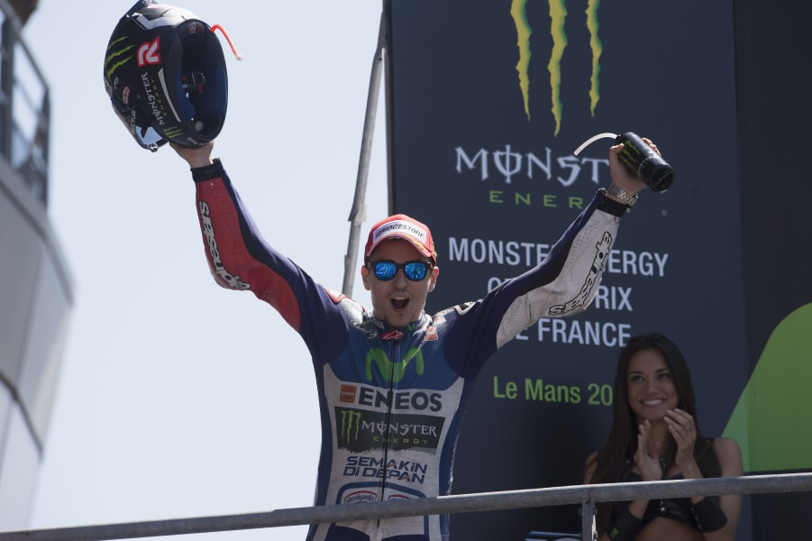 Jorge Lorenzo MotoGP France win
