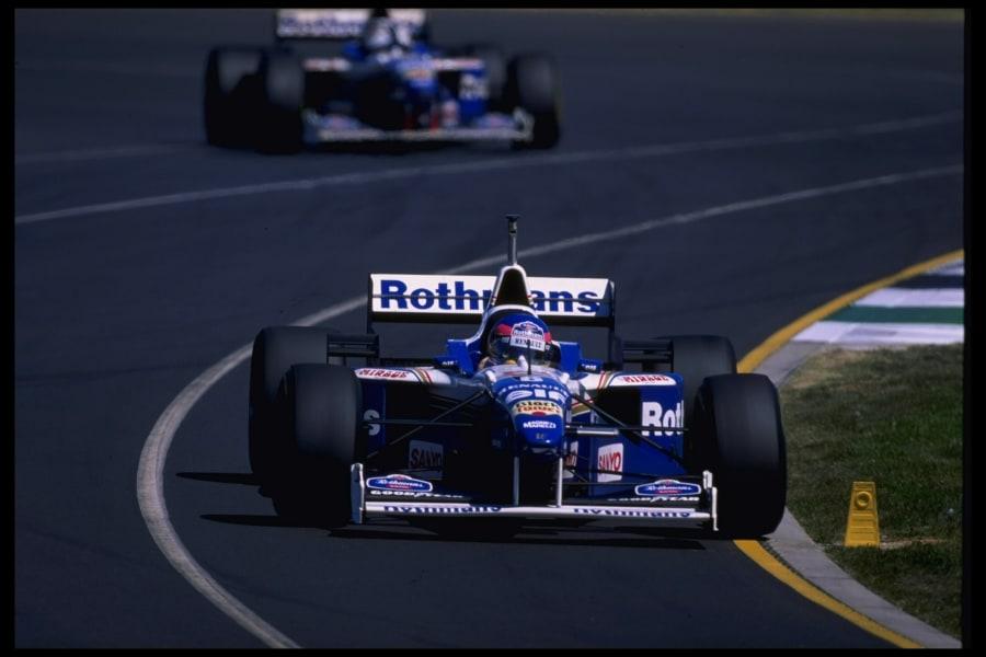 villeneuve 1996 f1
