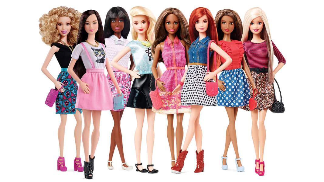 Barbie Fashionista line