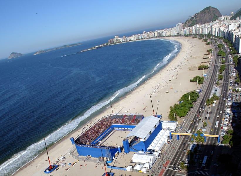 Beach Football -- rio stadium