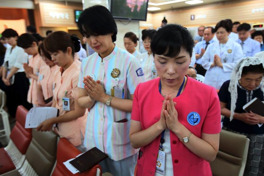 South Korea MERS hospital workers