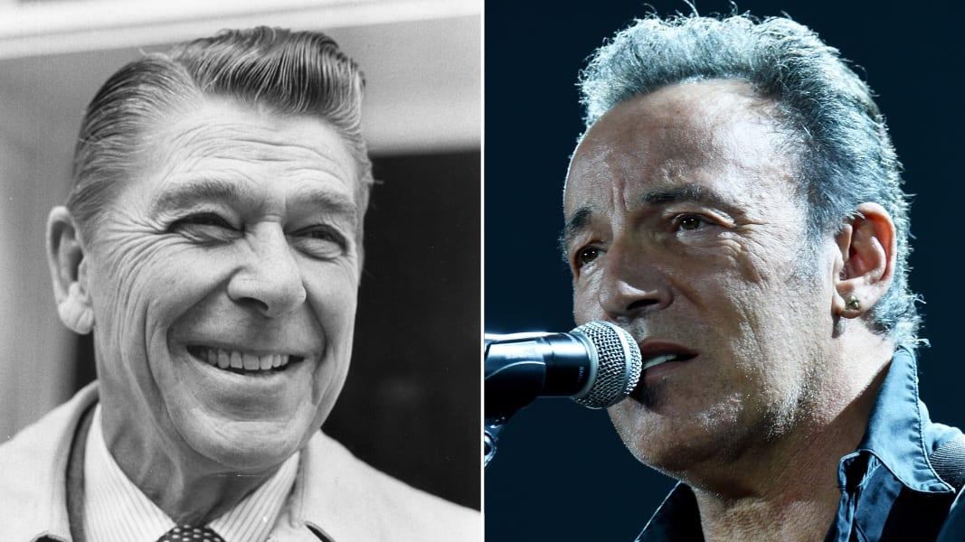 Ronald Reagan Bruce Springsteen