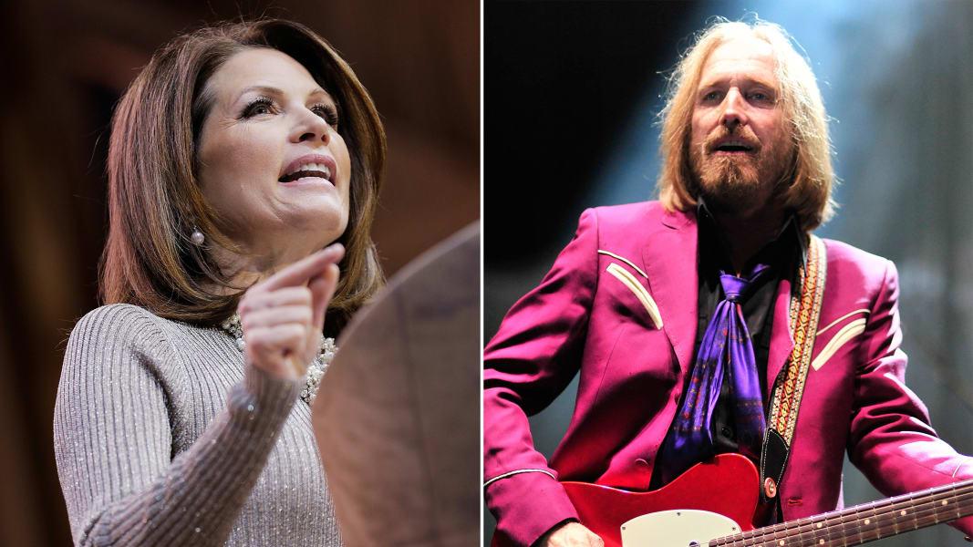 Tom Petty Michele Bachmann