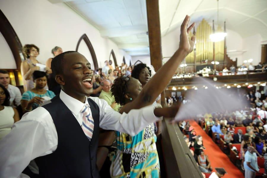 09 charleston church service