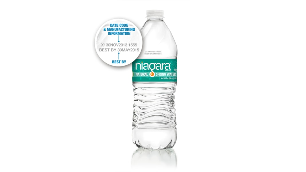 niagara bottled water recall