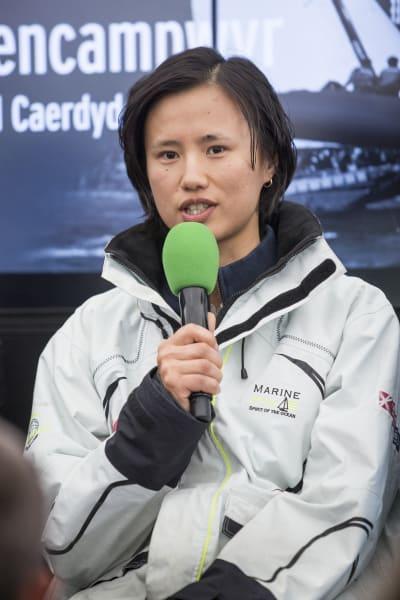 xu lijia speaking