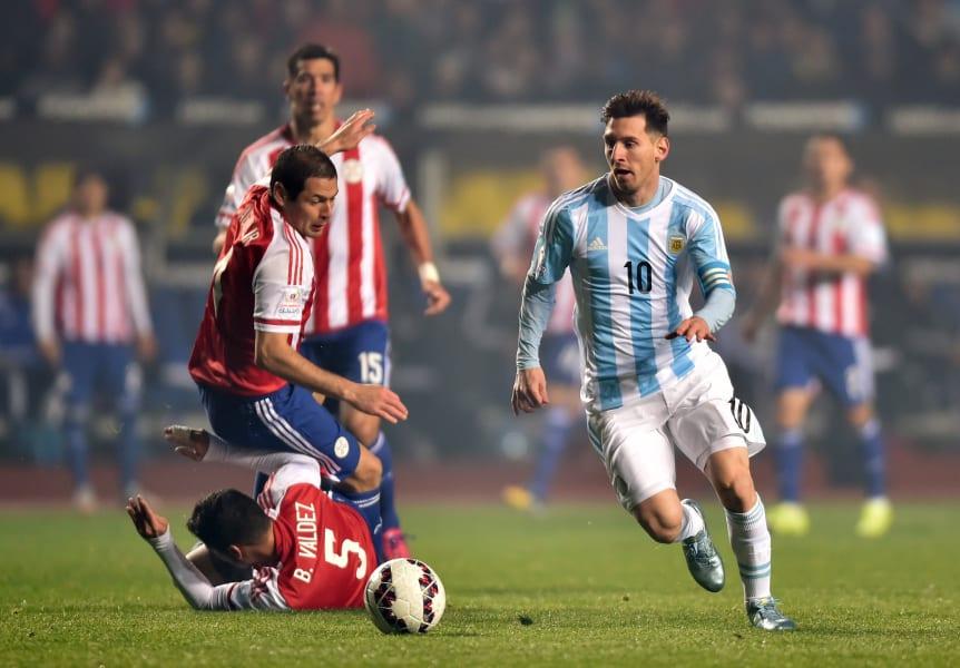 Messi Argentina Paraguay