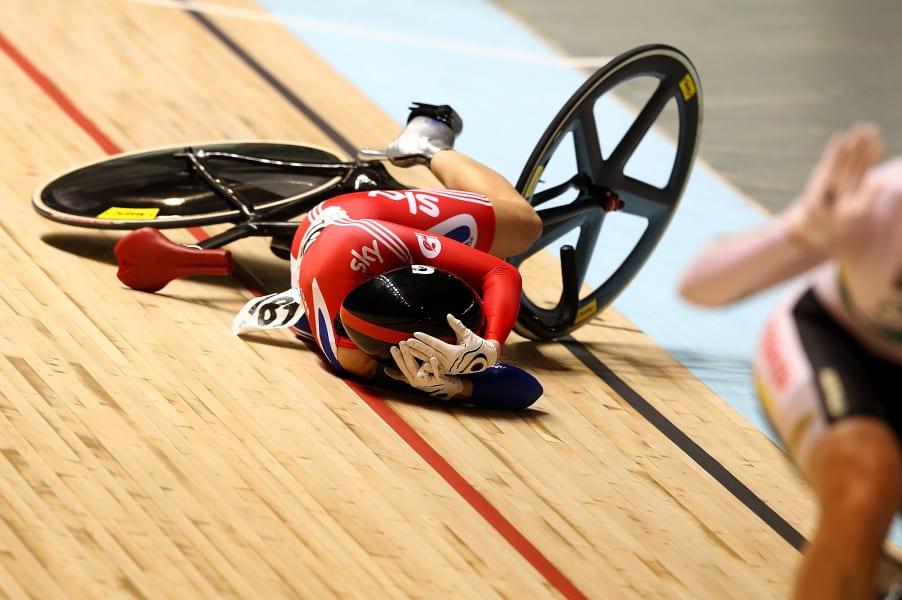 pendleton crash 2012 world championships