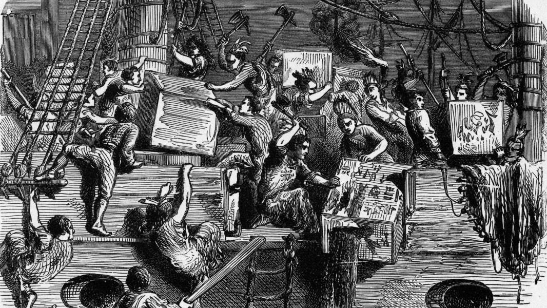 07 early u.s. history Boston Tea Party