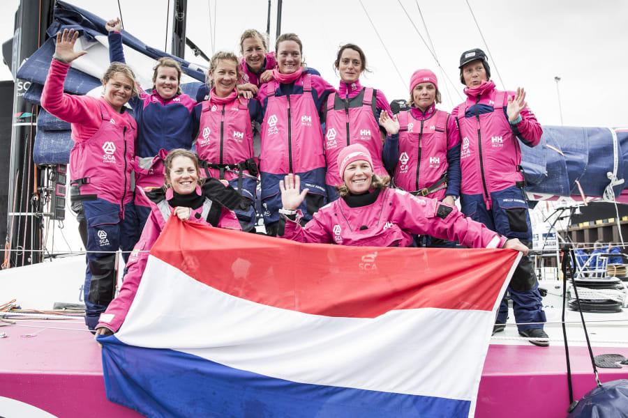 Team SCA flag