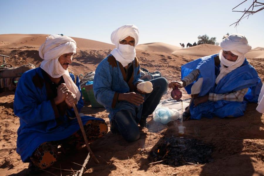 morocco north africa tea
