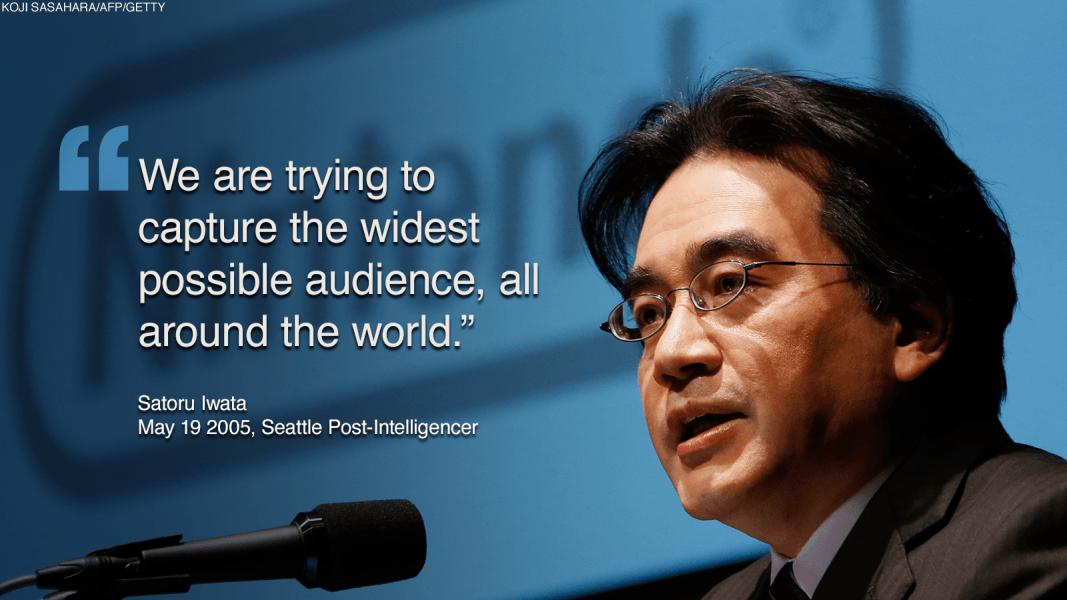 japan satoru iwata quote 2