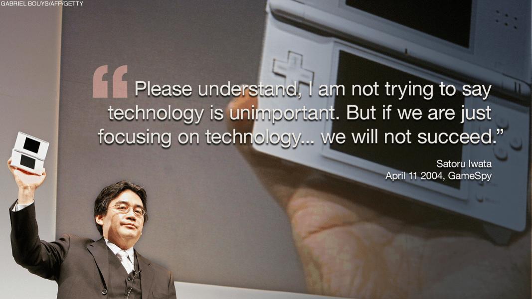 japan satoru iwata quote 5