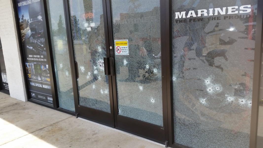 10 tn shooting recruitment center door