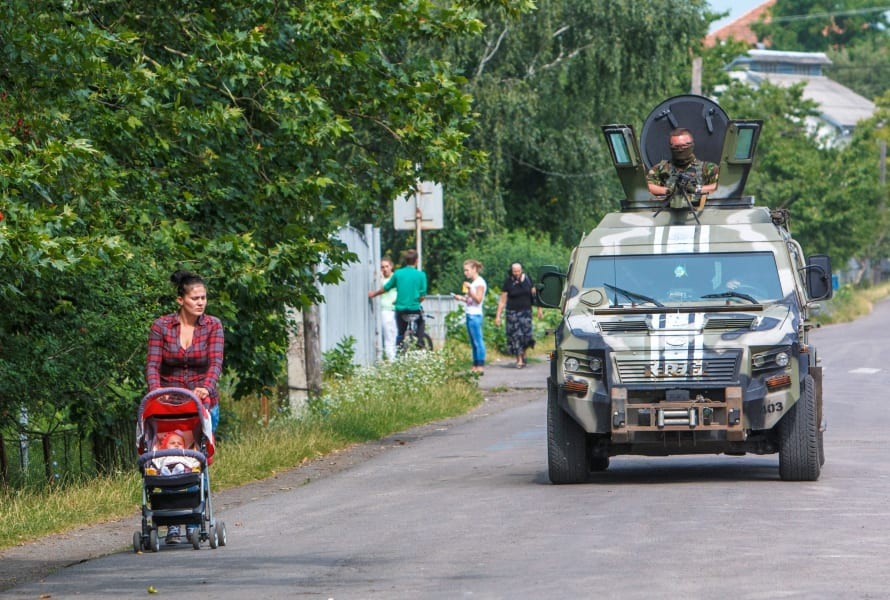Ukraine APC Stroller