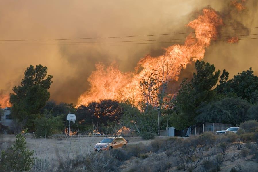 07 ca wildfire