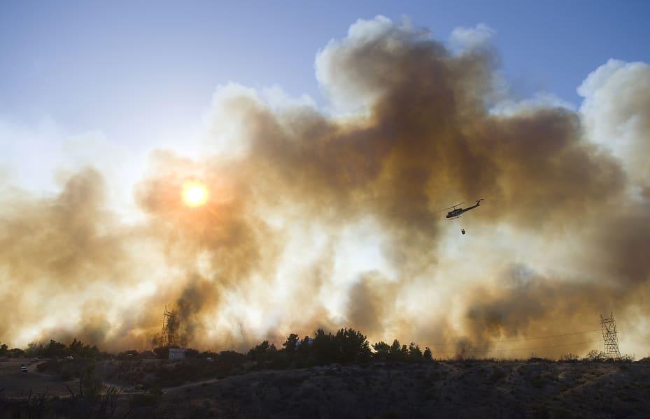 11 ca wildfire