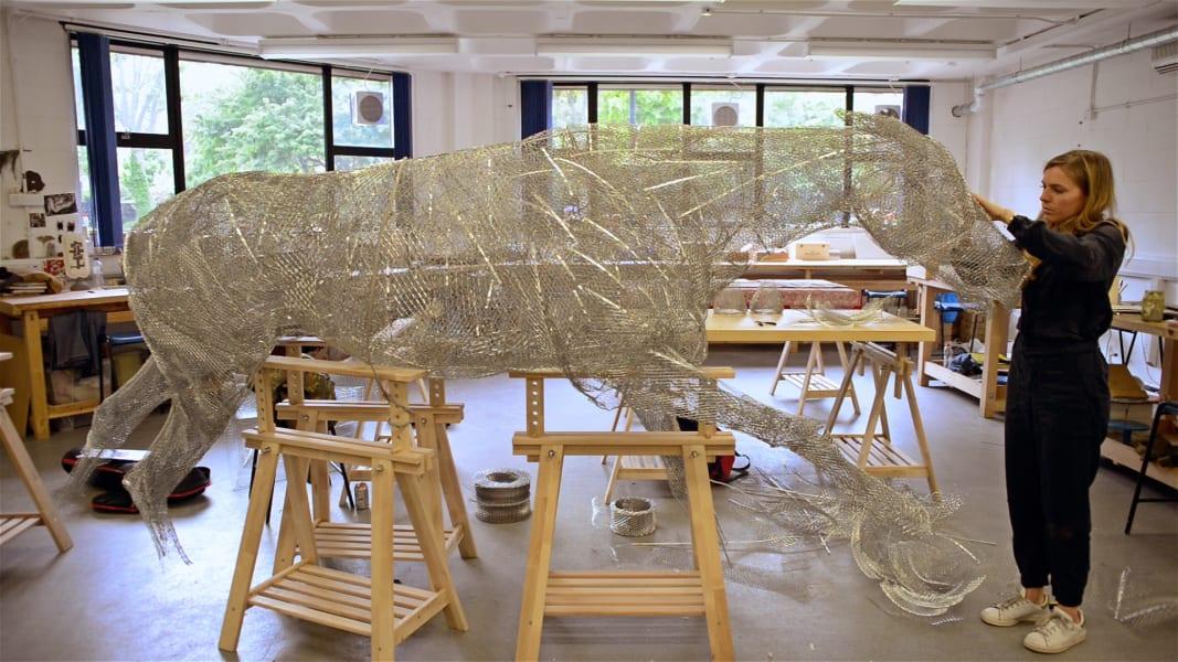 horse sculpture dumon 7