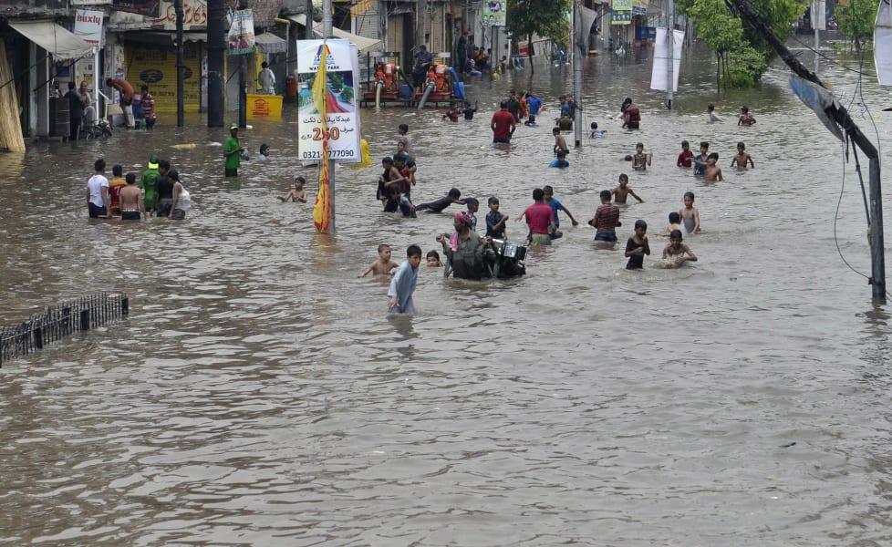 pakistan flash flood july 04