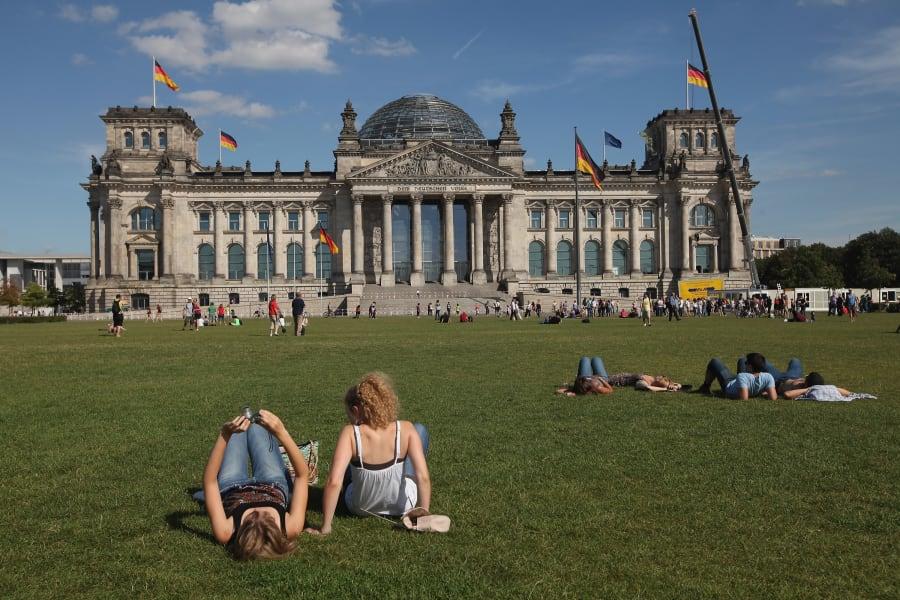 Berlin Reichstag FILE