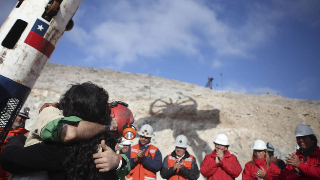 16 chile mine collapse RESTRICTED