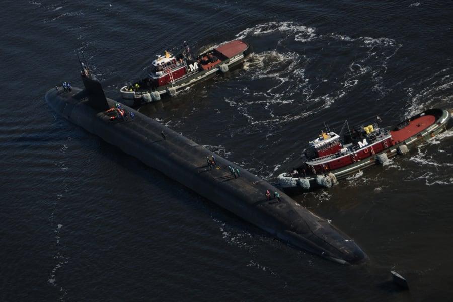 U S  Navy's submarine fleet