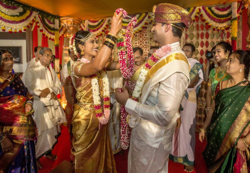 indian wedding gold garland