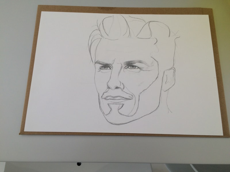 Beckham drawing