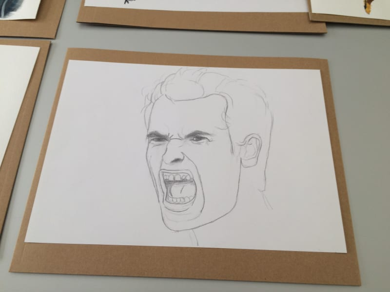 Andy Murray drawing