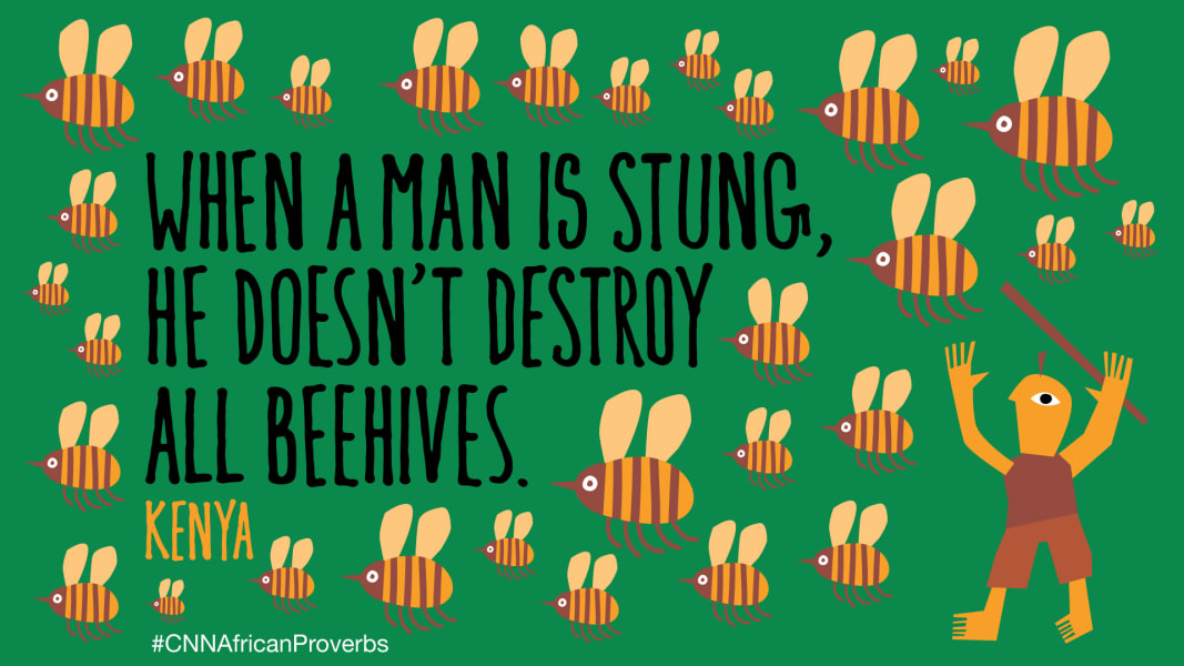 African proverbs 2 beehive