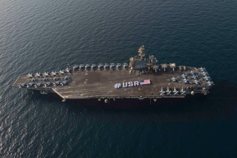 USS Roosevelt Gulf